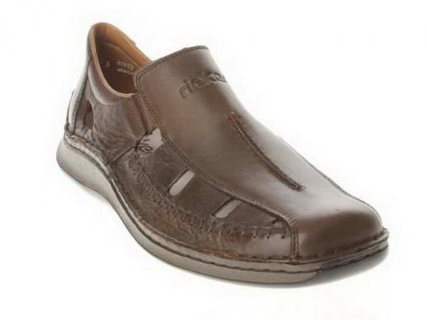 c9c04cdf5 Полуботинки Rieker сандалеты для мальчика 05279-25 с доставкой в Твери -  купить, узнать цены в интернет-магазине детской обуви «Сороконожка»
